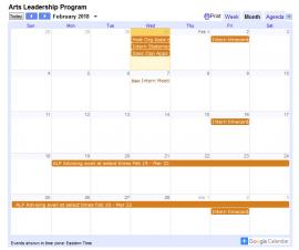 ALP Calendar